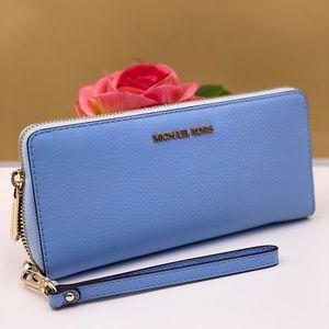 Michael Kors Large Continental wallet Blue